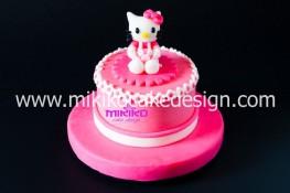 Immagine topper per decorare una torta con Hello Kitty