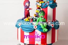 Torta per la Categoria occasioni speciali per il contest del Cake Show di Bologna Novembre 2013