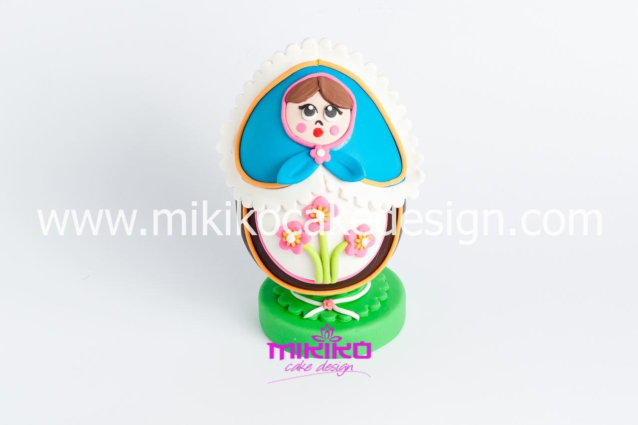 Immagine dell'uovo pasquale decorato con la PDZ
