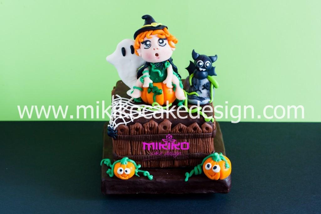 Immagine del topper in PDZ per Halloween