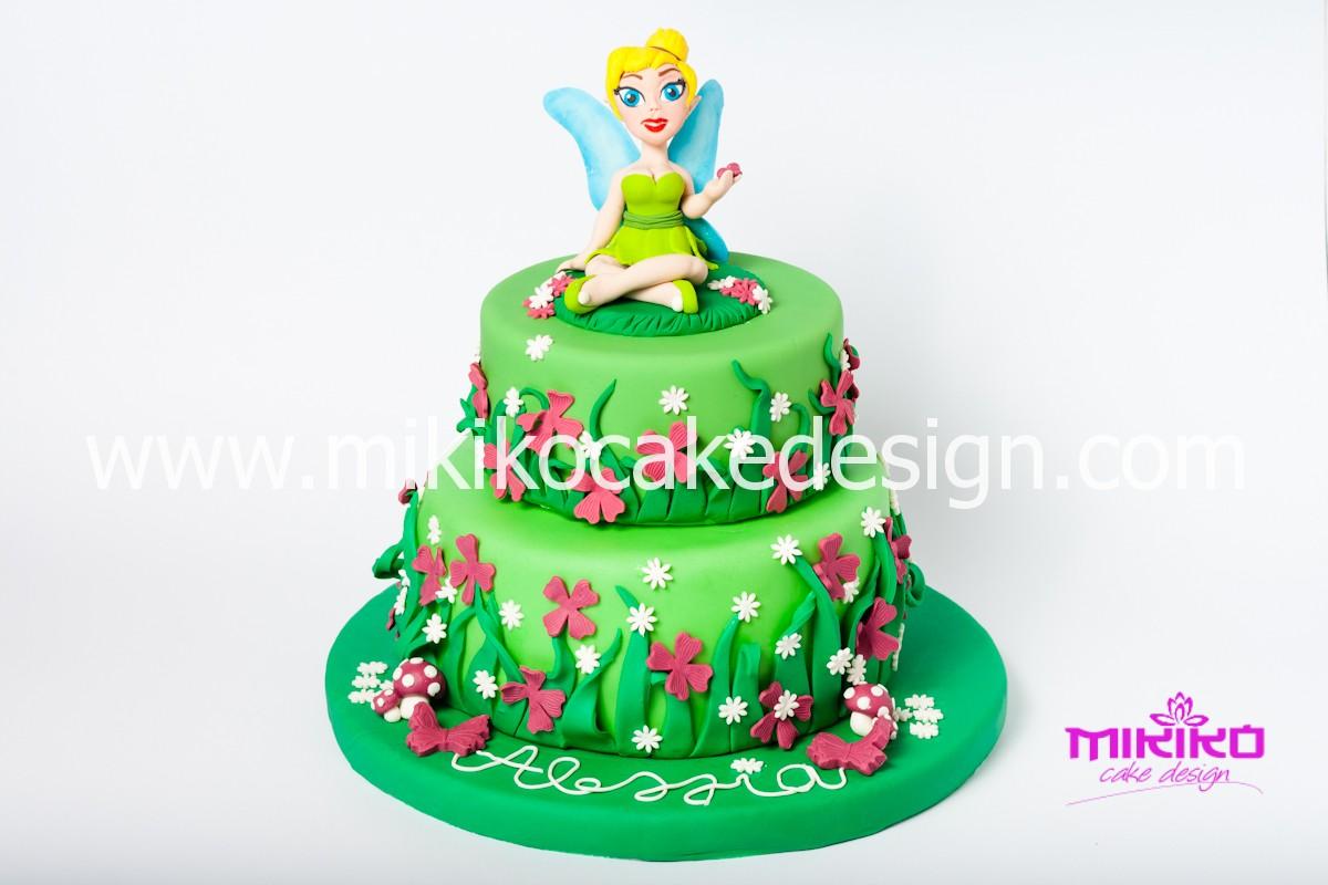 Immagine della torta di Trilly in pasta di zucchero