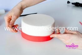 Tutorial passo passo torta decorata in pasta di zucchero per San Valentino-10 - 1024