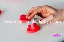 Tutorial passo passo torta decorata in pasta di zucchero per San Valentino-12 - 1024