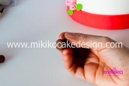 Tutorial passo passo torta decorata in pasta di zucchero per San Valentino-23 - 1024