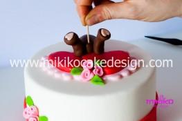 Tutorial passo passo torta decorata in pasta di zucchero per San Valentino-27 - 1024
