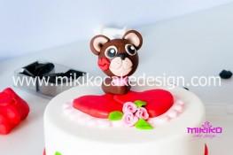 Tutorial passo passo torta decorata in pasta di zucchero per San Valentino-53 - 1024