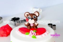 Tutorial passo passo torta decorata in pasta di zucchero per San Valentino-54 - 1024