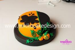 Torta pasta di zucchero per Halloween tuorial decorazioni passo passo (30)