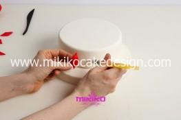 Torta di Carnevale in pasta di zucchero - pdz-09