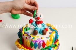 Torta di Carnevale in pasta di zucchero - pdz-65