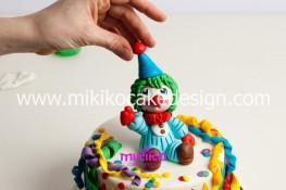 Torta di Carnevale in pasta di zucchero - pdz-70