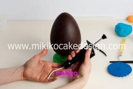 Tutorial uova di pasqua decorate con pasta di zucchero-11