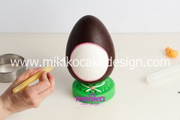 Tutorial uova di pasqua decorate con pasta di zucchero-28