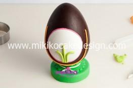 Tutorial uova di pasqua decorate con pasta di zucchero-31