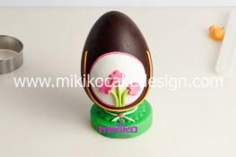 Tutorial uova di pasqua decorate con pasta di zucchero-33