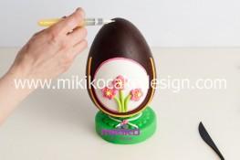 Tutorial uova di pasqua decorate con pasta di zucchero-36