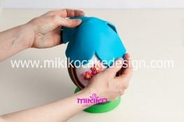 Tutorial uova di pasqua decorate con pasta di zucchero-41