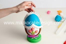 Tutorial uova di pasqua decorate con pasta di zucchero-45