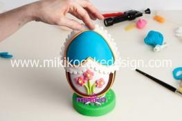 Tutorial uova di pasqua decorate con pasta di zucchero-47
