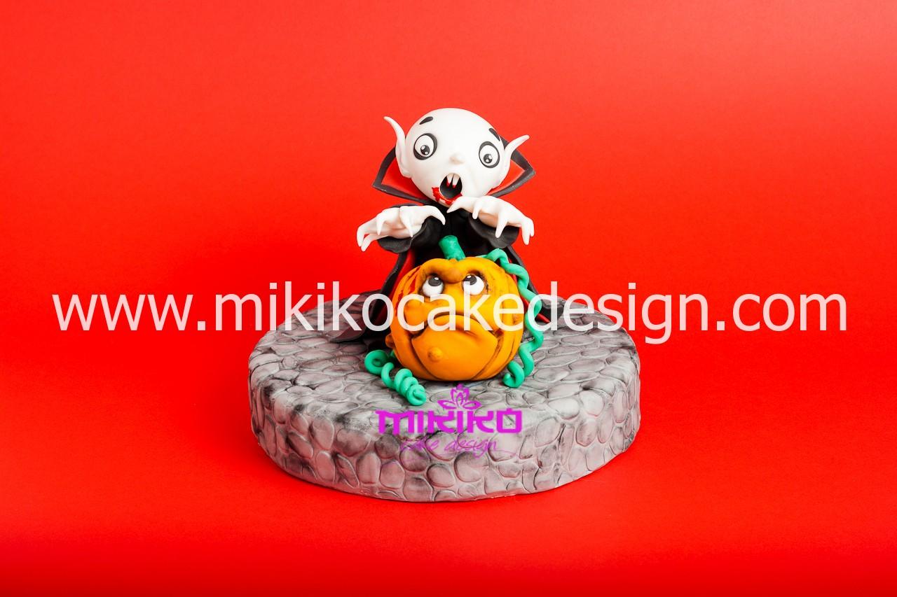 Immagine della decorazione che faremo al corso di Cake Design Decoriamo con Mikiko