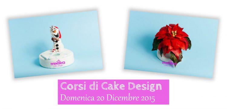 Immagine delle decorazioni che faremo al corso di cake design del 20 dicembre: Olaf Natalizio e una Stella di Natale con Ostia